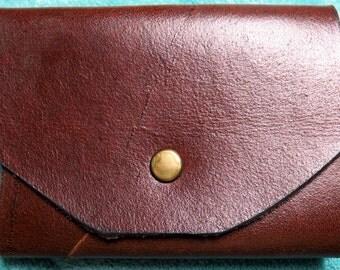 Leather Trifold Keycase Holds 8 Keys