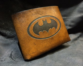 Leather batman Wallet