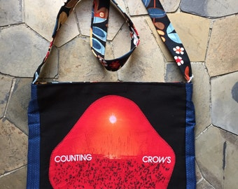 Counting Crows tshirt bag