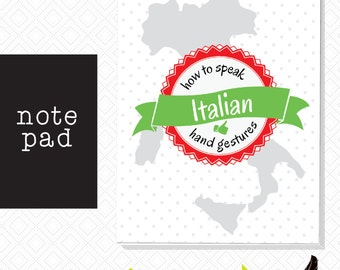 Note pad, Italian Note Pad