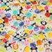 Disney Character  Disney tsum tsum fabric Print 50 cm by 53  cm or 19.6 by 21 inches