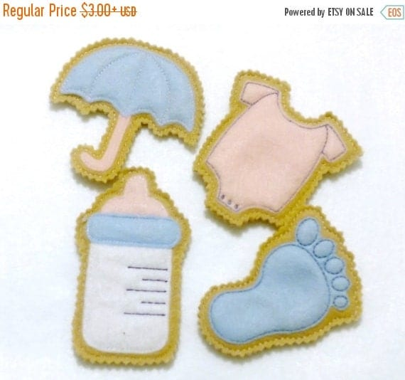 sale unique baby shower favors felt iced cookies thank you favors baby