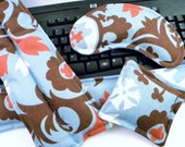 Office Gift Set, Keyboard Pads Mouse Pads Wrist Support, Desk Accessories for Office Work Gift for Boss, Job Stress Help