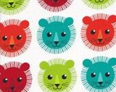 Robert Kaufman Roar Lions in Bright - Half Yard
