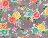 Moda Fabrics Fresh Cut Floral in Ink - Half Yard