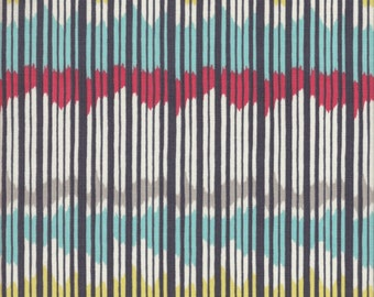 Free Spirit Fabrics Charleston Farmhouse Rhythm Stripe in Night - Half Yard