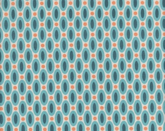 Free Spirit Fabrics Joel Dewberry Flora Abacus in Eucalyptus - Half Yard