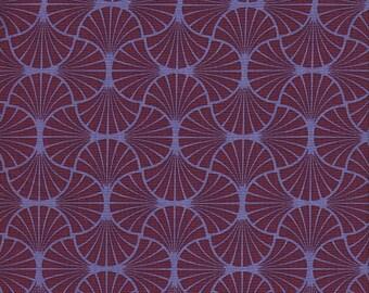 Free Spirit Fabrics Joel Dewberry Heirloom Empire Weave in Garnet -  Half Yard