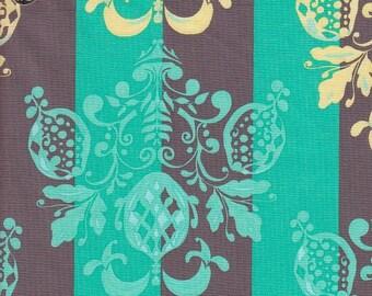 Free Spirit Fabrics Tina Givens Olivia's Holiday Pineapple Post in Stone - Half Yard