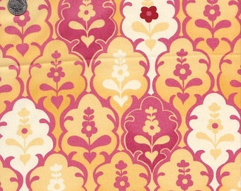 Moda Fabrics Hunky Dory Floral Brocade in Mellow Yellow - Half Yard