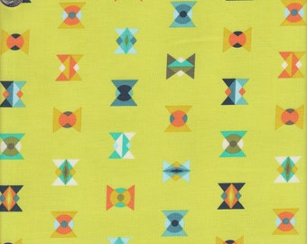 Free Spirit Fabrics Tula Pink Acacia Arrowheads in Lime - Half Yard