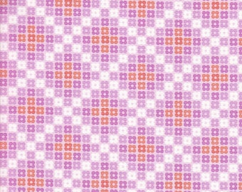Free Spirit Fabrics Erin McMorris Weekends Hopscotch in Pink - Half Yard