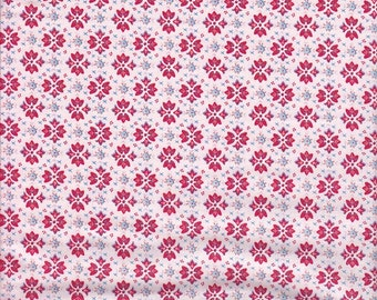 SALE - In The Beginning Fabrics Dream A Little Dream With Me Diamonds in Pink - End of Bolt - Last Yard in Stock