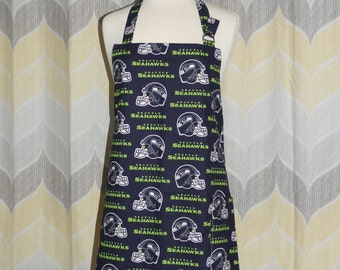 Seattle Seahawks NFL Grilling Apron - FREE or PRIORITY Shipping