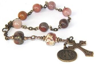 Saint Benedict Christian Prayer Beads, Anglican Chaplet