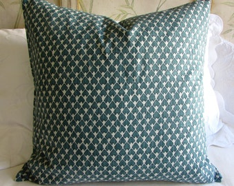 EURO PILLOW COVER 26x26 diego/prussian blue
