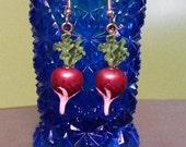 Luna Lovegood Inspired Radish Earrings SALE