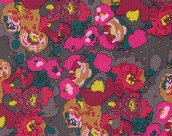 Peonies in Bright,  Anna Maria Horner, MOD CORSAGE, 1 yard