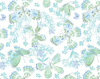 SALE Aria Foliage Butterfly Yardage SKU# 27230-17  -  1 Yard