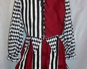 NEW Ready-to-Wear Renaissance Jester / Foole Costume -  Large Size - Cotton