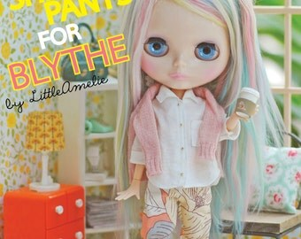 Patterns and English Instructions of Shirt and Pants for Blythe