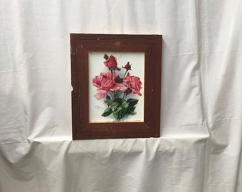 SHABBY ARCHITECTURAL Chic Salvaged Recycled Barn Wood Photo Picture Frame 8x10 375-16