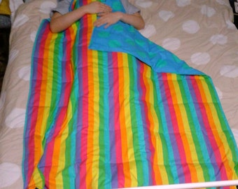 Fabric choice weighted blanket, teen size, 150 x 110cm, 5kg to 8kg, custom made