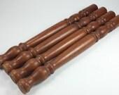 Vintage repurpose wooden table legs wooden legs supply legs