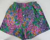 Vintage 70s NOS Boxer Shorts S in Psychedelic Flowers by Win-Sir