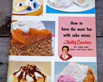 Betty Crocker Recipes Pamphlet Booklet