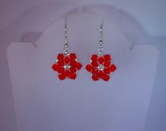 Swarovski Crystal Jewelry - Christmas Earrings - Made to Order