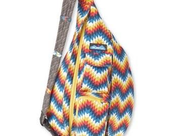 Monogrammed Kavu Rope Bags - El Paso - Great gift for College, Teens, Women, Outdoors Satchel Crossbody Tote