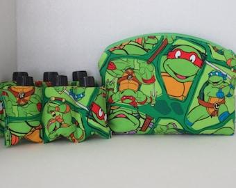 Essential Oil Case - Oil Case - Essential Oil Cases - Two inserts - Ninja Turtles Case