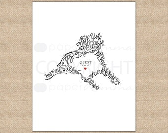 Labrador Art, or mixed breed Pet Dog Portrait, Honor your furry friend w/ this custom print // Art Print or Canvas Print // H-A03-1PS AA3