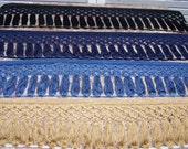 Bullion  Trim Fringe Knitted Criss Cross 5 3/4 inch Tassels Sewing Choice Colors Quantity Length Embellishment Supplies Jewelry