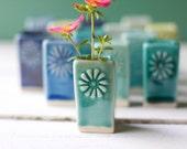 Porcelain bud vase wedding favors