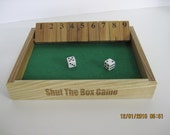 Just for you custom listing. Shut the box board game