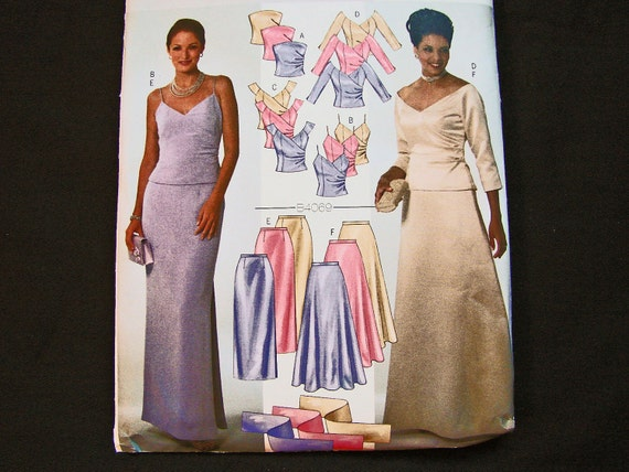 Mother Of The Bride Groom Dress Pattern Misses Size 12 14