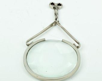 "magnifying glass pendant, 4.25"" length P4413"