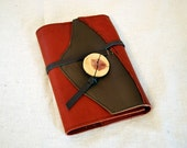 2017 Rusted Orange Refillable Leather Planner