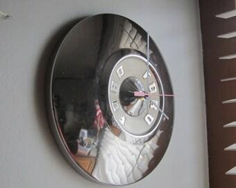 1957 Ford Hubcap Clock no. 2331