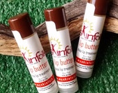 Natural Lip Balm with Organic Shea Butter and Raw Cupuacu Butter.  Lip Butter handcrafted in San Diego.