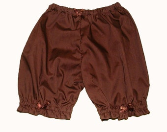 Simple Multicolor Bloomers for Girls