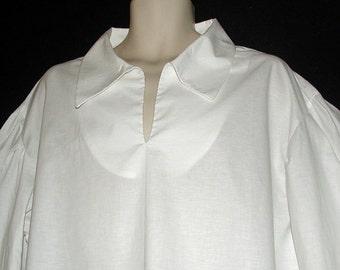 Collared Nightshirt Costume for Men