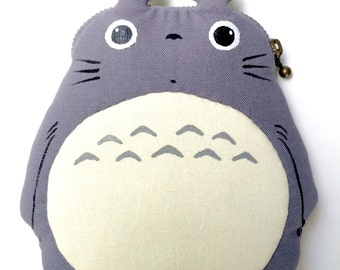 My Neighbor Totoro Fabric Coin Bag Purse Doll (UK and EU Only)