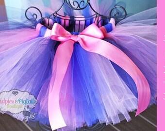 Baby tutu { Lady Nautical } Blue, navy, pink Summer Beach, Cruise, First Birthday, Anchor Cake, unicorn Smash photography prop