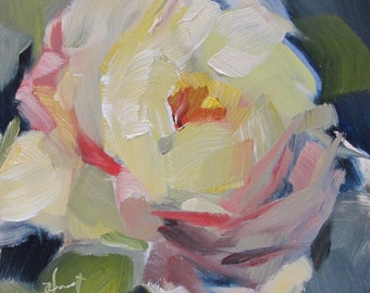 Yellow Rose.....impressionism, impressionistic, Pre-Order