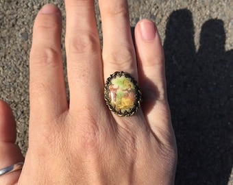 FREE SHIPPING vintage ring jewelry