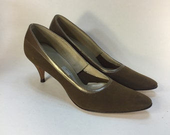 1960s Town & Country Pumps Classic Jackie O Style Ladylike