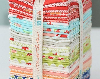 RARE. . Miss Kate Fat Quarter Bundle  by Bonnie and Camille for Moda